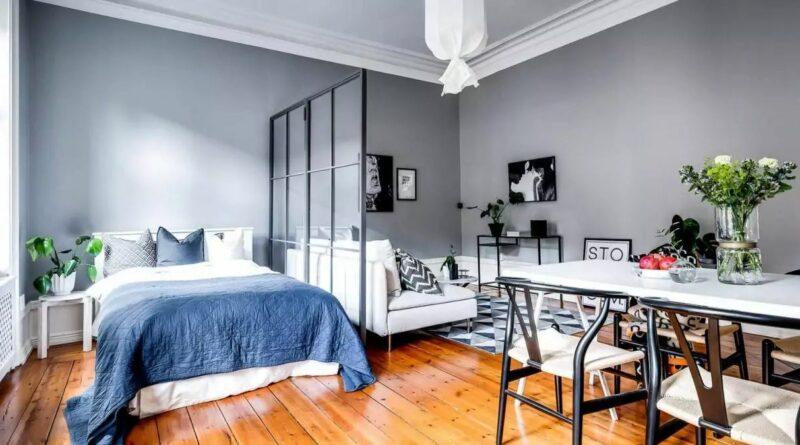 Квартира в скандинавском стиле с мебелью из IKEA