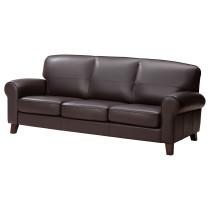 Диван 3-местный ЮСТАД темно-коричневый артикуль № 101.932.39 в наличии. Онлайн каталог IKEA РБ. Недорогая доставка и соборка.