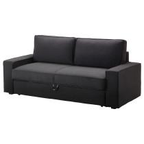 Диван-кровать 3-местный ВИЛАСУНД темно-серый артикуль № 199.072.38 в наличии. Онлайн сайт IKEA РБ. Недорогая доставка и соборка.