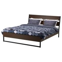 Каркас кровати ТРИСИЛ темно-коричневый артикуль № 290.024.28 в наличии. Онлайн каталог IKEA РБ. Недорогая доставка и соборка.