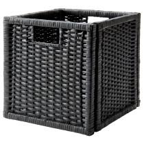 Корзина БРАНЭС темно-серый артикуль № 002.824.05 в наличии. Online сайт IKEA РБ. Быстрая доставка и соборка.