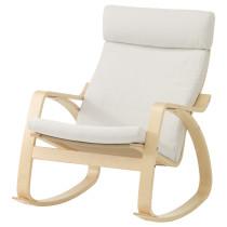 Кресло-качалка ПОЭНГ белый артикуль № 890.904.79 в наличии. Online сайт ИКЕА РБ. Быстрая доставка и установка.