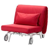 Кресло-кровать ИКЕА/ПС ЛЁВОС красный артикуль № 698.743.82 в наличии. Интернет сайт IKEA Минск. Недорогая доставка и соборка.