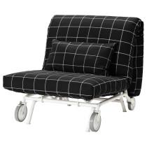 Кресло-кровать ИКЕА/ПС ЛЁВОС черный артикуль № 998.743.85 в наличии. Онлайн сайт IKEA РБ. Недорогая доставка и монтаж.
