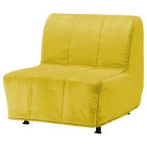 Кресло-кровать ЛИКСЕЛЕ МУРБО желтый артикуль № 798.601.48 в наличии. Онлайн магазин ИКЕА Беларусь. Недорогая доставка и установка.