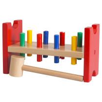 Набор, колышки и молоток МУЛА разноцветный артикуль № 572.122.95 в наличии. Интернет магазин IKEA РБ. Недорогая доставка и установка.