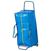 Тележка с сумкой ФРАКТА синий артикуль № 798.751.97 в наличии. Интернет каталог IKEA Беларусь. Быстрая доставка и соборка.