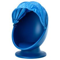 Вращающееся кресло ИКЕА ПС ЛЁМСК синий артикуль № 302.642.16 в наличии. Online каталог IKEA РБ. Быстрая доставка и монтаж.