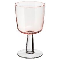 Бокал для вина ИНТАГАНДЕ светло-розовый артикуль № 003.319.67 в наличии. Интернет сайт IKEA Республика Беларусь. Быстрая доставка и монтаж.