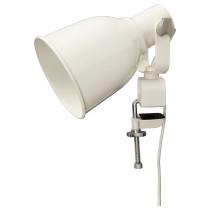 Настенный софит, лампа с зажимом ХЕКТАР белый артикуль № 903.610.02 в наличии. Интернет сайт IKEA Минск. Недорогая доставка и соборка.