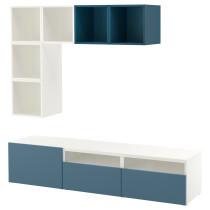 Комбинация для ТВ БЕСТО / ЭКЕТ темно-синий артикуль № 692.044.29 в наличии. Интернет сайт IKEA Минск. Недорогая доставка и монтаж.
