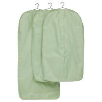 Чехол для одежды, 3 штуки СКУББ светло-зеленый артикуль № 403.966.07 в наличии. Интернет сайт ИКЕА Минск. Недорогая доставка и соборка.