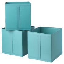 Коробка СКУББ голубой артикуль № 403.889.85 в наличии. Интернет магазин ИКЕА Беларусь. Быстрая доставка и соборка.