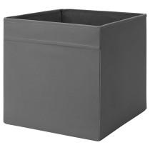 Коробка ДРЁНА темно-серый артикуль № 403.823.99 в наличии. Онлайн каталог IKEA Минск. Быстрая доставка и установка.