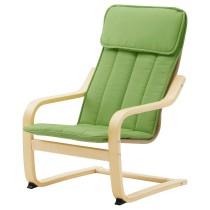 Кресло детское ПОЭНГ зеленый артикуль № 503.801.06 в наличии. Online магазин IKEA Минск. Быстрая доставка и соборка.