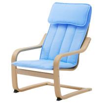 Кресло детское ПОЭНГ синий артикуль № 603.800.97 в наличии. Интернет магазин IKEA Беларусь. Быстрая доставка и монтаж.