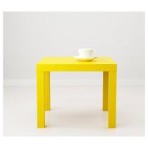 Придиванный столик ЛАКК желтый артикуль № 803.832.26 в наличии. Интернет магазин ИКЕА РБ. Недорогая доставка и установка.