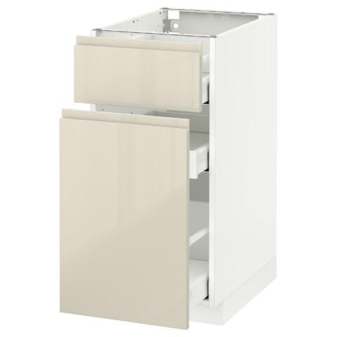 Напольный шкаф, выдвижной секцией, ящик МЕТОД / МАКСИМЕРА белый артикуль № 092.385.83 в наличии. Интернет сайт IKEA РБ. Быстрая доставка и установка.