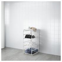 Рама, 3 проволочные корзины, верхняя полка АЛЬГОТ белый артикуль № 092.763.39 в наличии. Online сайт IKEA РБ. Недорогая доставка и соборка.