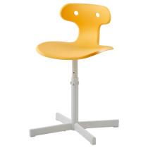 Стул для письменного стола МОЛЬТЕ желтый артикуль № 603.849.72 в наличии. Online каталог IKEA РБ. Быстрая доставка и монтаж.