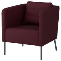 Кресло ЭКЕРЁ темно-красный артикуль № 204.025.67 в наличии. Online каталог IKEA РБ. Недорогая доставка и монтаж.