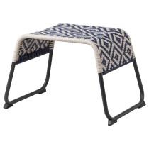 Табурет для ног ОВЕРАЛЛЬТ синий артикуль № 104.312.78 в наличии. Интернет сайт IKEA Минск. Недорогая доставка и установка.
