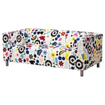 Чехол дивана 2-местного КЛИППАН разноцветный артикуль № 904.284.51 в наличии. Интернет магазин IKEA Беларусь. Недорогая доставка и монтаж.