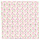 Салфетка, белый/розовый 45×45 см IKEA INBJUDEN ИНБЬЮДЕН 604.914.39